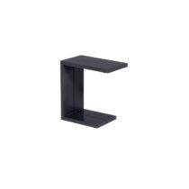 Bijzettafel Cube Zwart Tuinmeubelen Aluminium