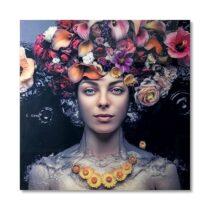 Feelings Wanddeco Flower Art Lady Woon accessoires