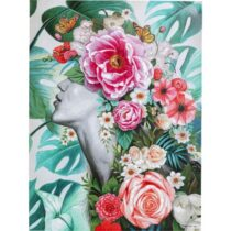 Feelings Wanddeco Touched flower lady Woon accessoires