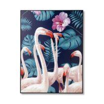 Feelings Wanddecoratie Flamingo Woon accessoires