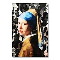 Girl With The Pearl Earring Woon accessoires Glas
