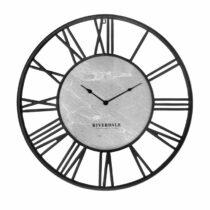Riverdale Wandklok Derby zwart 75cm Woon accessoires